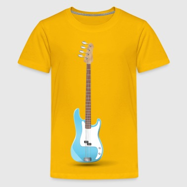 Bass Guitar - Kids' Premium T-Shirt