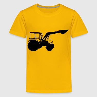 Tractor areas with outline - Kids' Premium T-Shirt