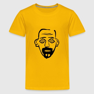 Bearded Bald Guy - Kids' Premium T-Shirt