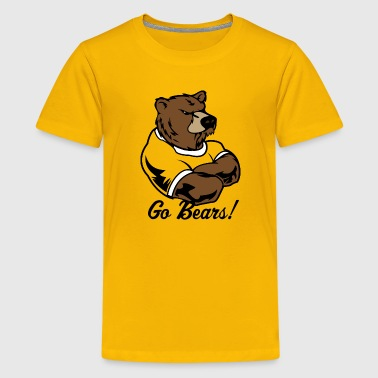Bears Basketball bear - Kids' Premium T-Shirt