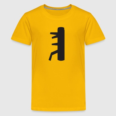 The Secret of the WING CHUN Dummy - Kids' Premium T-Shirt