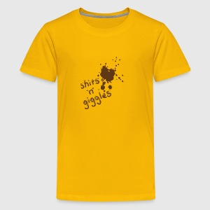 SHITS 'n' giggles - T-shirt premium pour ados