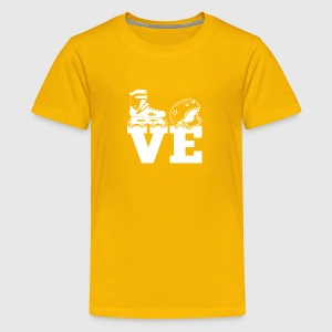I Love Skating T Shirt - Kids' Premium T-Shirt