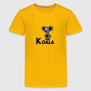 Shop Koala Cartoon T-Shirts online | Spreadshirt