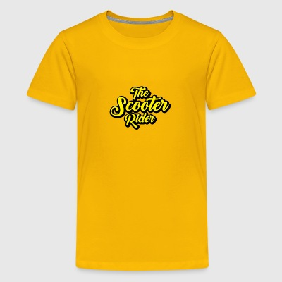 Scooter-Rider - Kids' Premium T-Shirt
