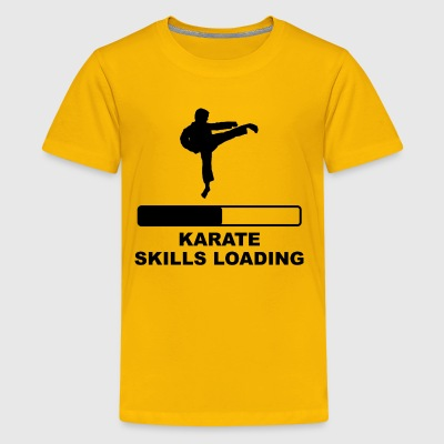 Karate Skills Loading - Kids' Premium T-Shirt