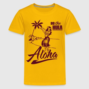 aloha - do the hula - Kids' Premium T-Shirt