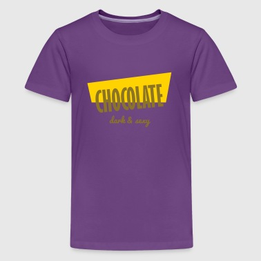 chocolate - Dark and Sexy - Kids' Premium T-Shirt