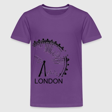 London Eye - Kids' Premium T-Shirt