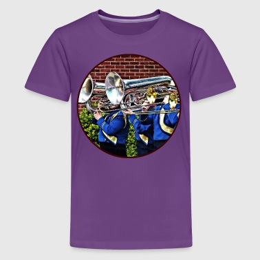 Baritone Horns and Trombo - Kids' Premium T-Shirt