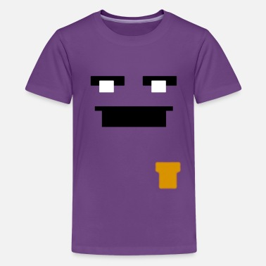 Fnaf Purple Guy Face (Niños y Niñas) - Kids' Premium T-Shirt