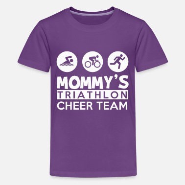 Team Cheer triathlon cheer team - Kids' Premium T-Shirt