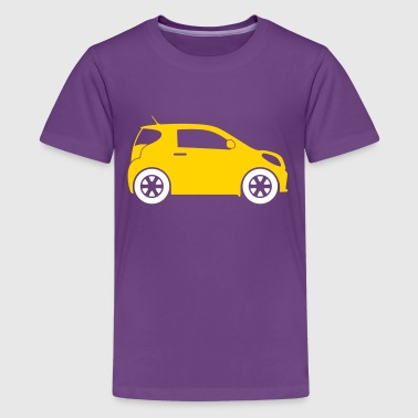 Small Compact Car - Kids' Premium T-Shirt