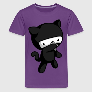 Ninja Kitty - Kids' Premium T-Shirt