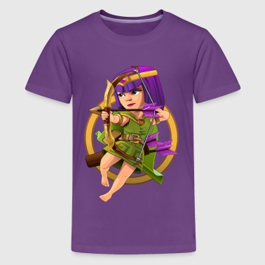Clash Of Clans ARCHER - Kids' Premium T-Shirt