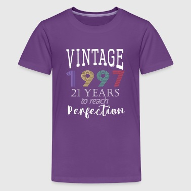 vintage 1997 years to perfection - Kids' Premium T-Shirt