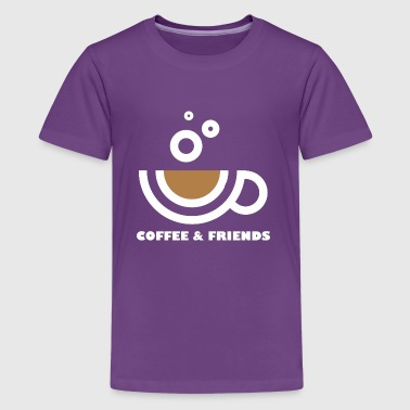 Coffee And Friends - Kids' Premium T-Shirt