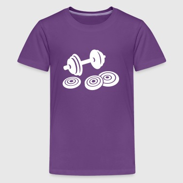 Barbell - Kids' Premium T-Shirt