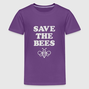 Save Gasoline Save the Bees - Kids' Premium T-Shirt