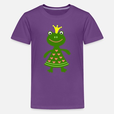 Frogs Halloween frog - Kids' Premium T-Shirt