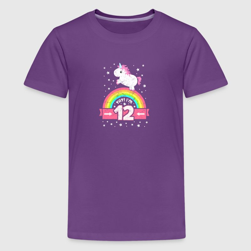 Cute 12 Year Girly Bedrooms: Cute 12th Birthday Unicorn Kid Girl 12 Years Old By