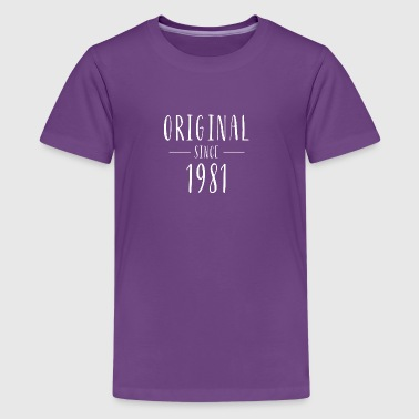 Original since 1981 - Born in 1981 - Kids' Premium T-Shirt