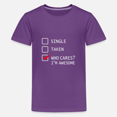 67e040a4f Multiple Choice Single Shirt Funny Gift Idea - Kids' Premium T-Shirt