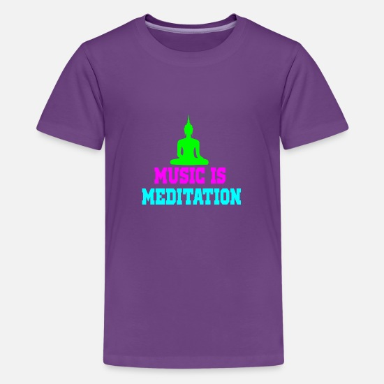 music meditation 3 Kids' Premium T-Shirt | Spreadshirt