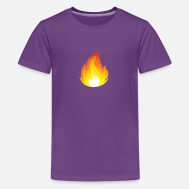 Youtuber Flames Merch a For youtube - Kids' Premium T-Shirt