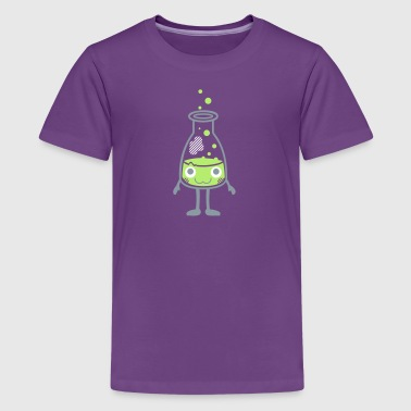 Kawaii-Designs: Erlenmeyer flask - Kids' Premium T-Shirt