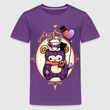 Sheep at Carnival - Kids' Premium T-Shirt
