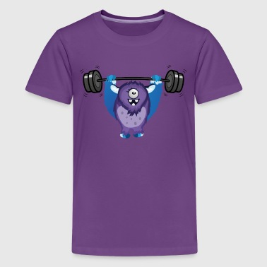 Unleash the monster, unleash the beast - Kids' Premium T-Shirt