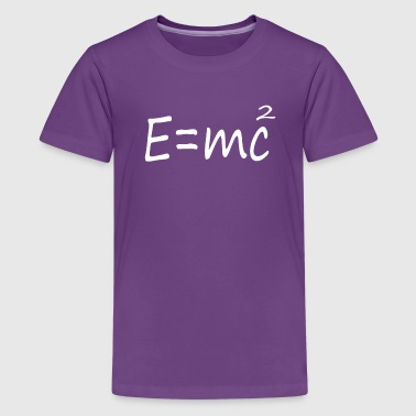 E=mc2 Albert Einstein Theory - Kids' Premium T-Shirt