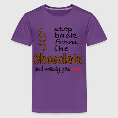 Perfect graphic for chocolate lovers. - Kids' Premium T-Shirt