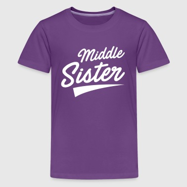Middle Sister - Kids' Premium T-Shirt