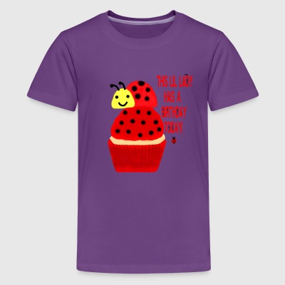 This Lil Lady Has A Birthday Today - Kids' Premium T-Shirt