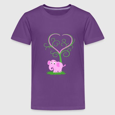 The three of love - Kids' Premium T-Shirt
