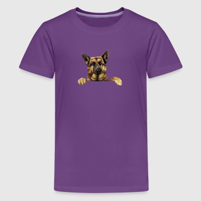 German Shepherd T shirt German Shepherd Power - Kids' Premium T-Shirt