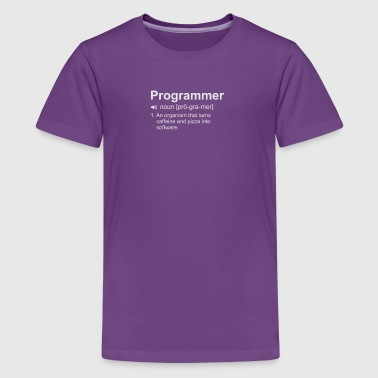 Programmer Dictionary - Kids' Premium T-Shirt