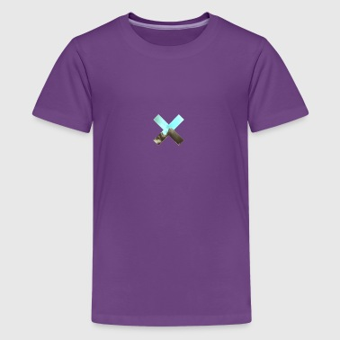Mountain cross - Kids' Premium T-Shirt
