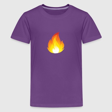 Flames Merch a For youtube - Kids' Premium T-Shirt