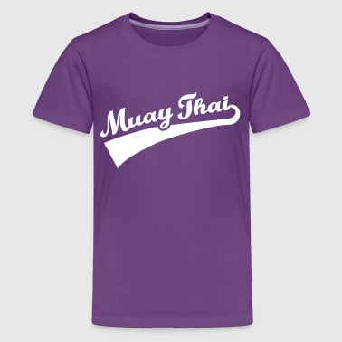Muay Thai - Kids' Premium T-Shirt