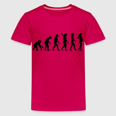 Pregnant woman - Kids' Premium T-Shirt