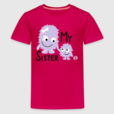 My little big sister - Kids' Premium T-Shirt