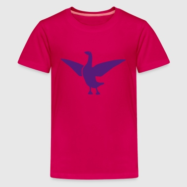 goose duck chicken breast rooster wings thanksgivi - Kids' Premium T-Shirt