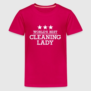 Cleaning lady - Kids' Premium T-Shirt