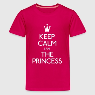 keep calm princess - Kids' Premium T-Shirt