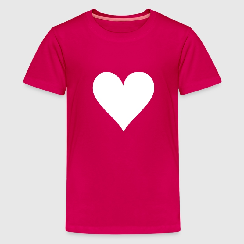 Poker heart - Kids' Premium T-Shirt