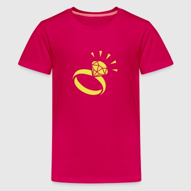 Diamond ring - Kids' Premium T-Shirt