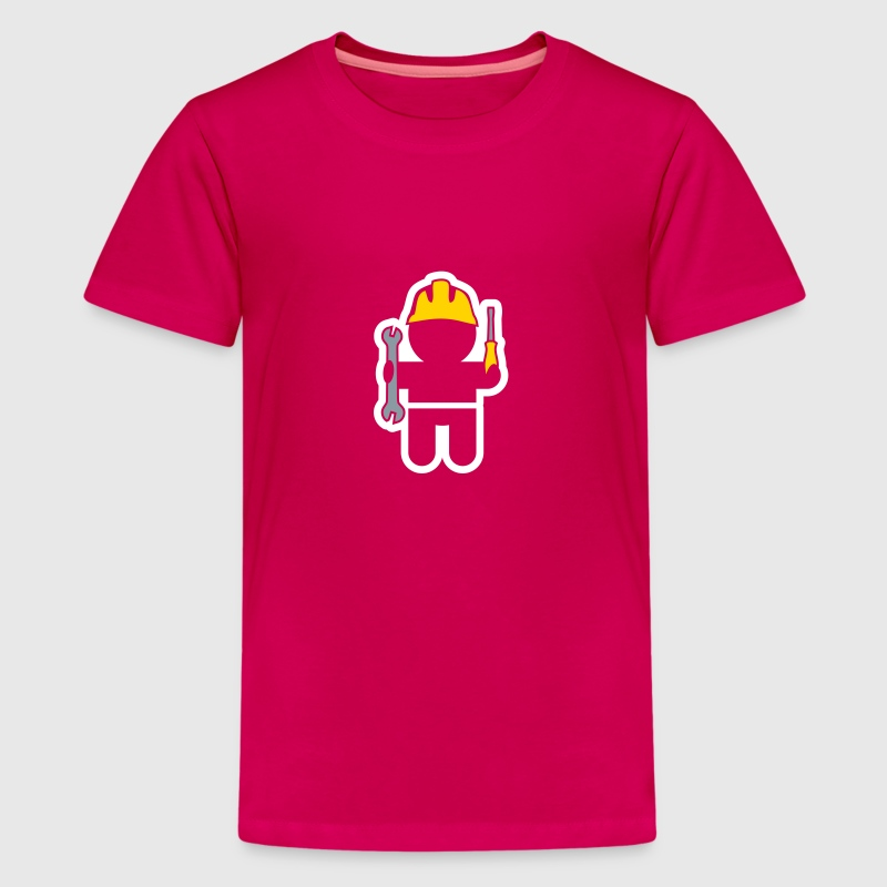 careers and professions: the locksmith - Kids' Premium T-Shirt